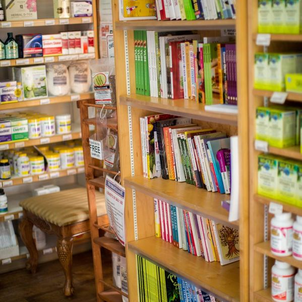 Health food and books