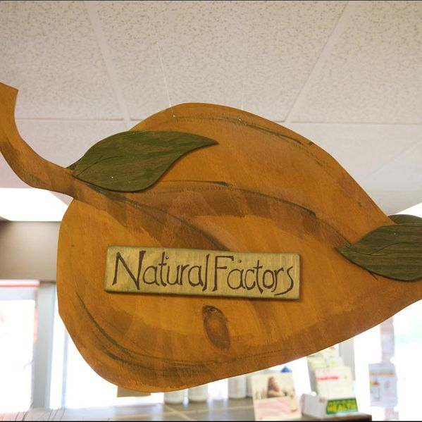 Natural Factors sign